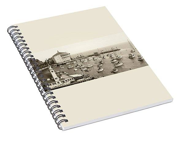 Catalina Island. Avalon Spiral Notebook