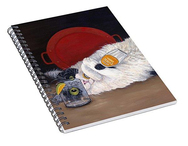 Catatonic Spiral Notebook