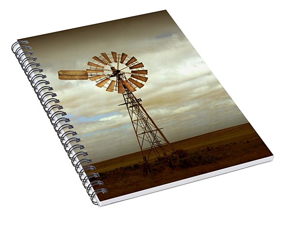 Catch The Wind Spiral Notebook