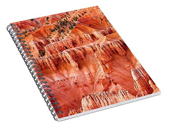 Spiral Notebook featuring the photograph Cedar Breaks Landscape by Mae Wertz