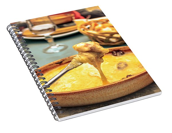 Cheese Fondue With Friends Spiral Notebook