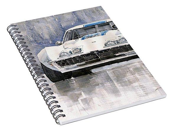Chevrolet Corvette C3 Spiral Notebook