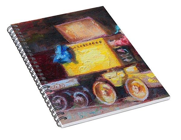 Child's Play - Gold Mine Train Spiral Notebook