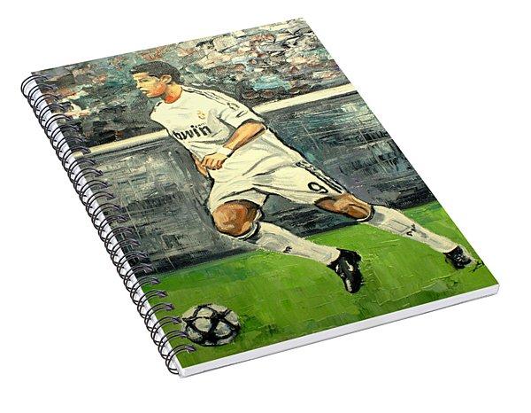 Christiano Ronaldo Spiral Notebook
