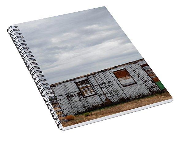 Cima Union Pacific Railroad Station Spiral Notebook