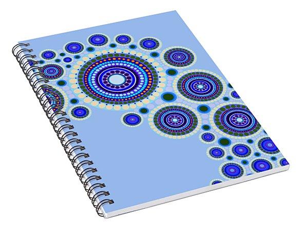 Circle Motif 117 Spiral Notebook