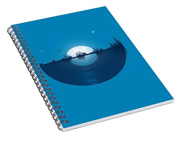 City Tunes Spiral Notebook