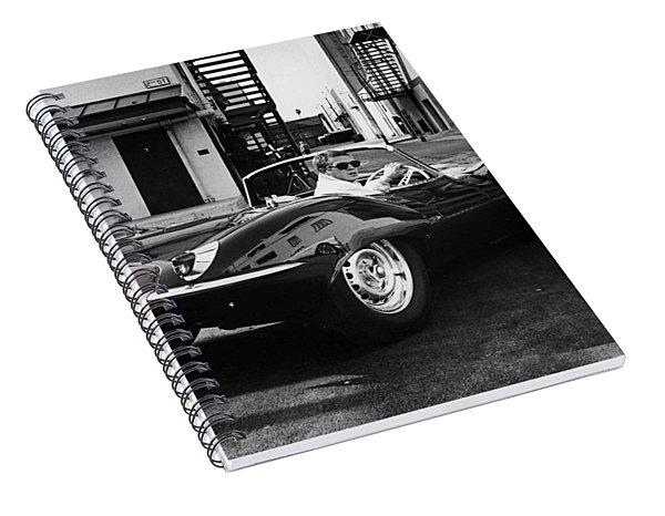 Classic Steve Mcqueen Photo Spiral Notebook