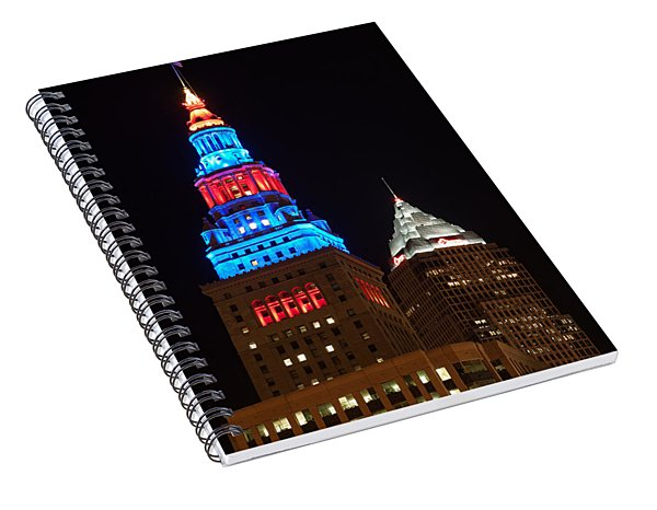 Cleveland Towers Spiral Notebook