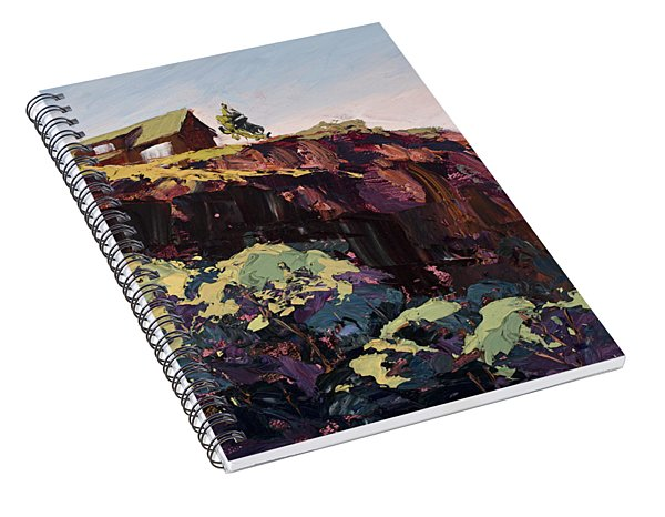 Cliff Hanger Spiral Notebook