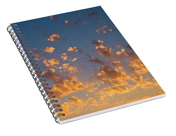 Clouds #6 Spiral Notebook