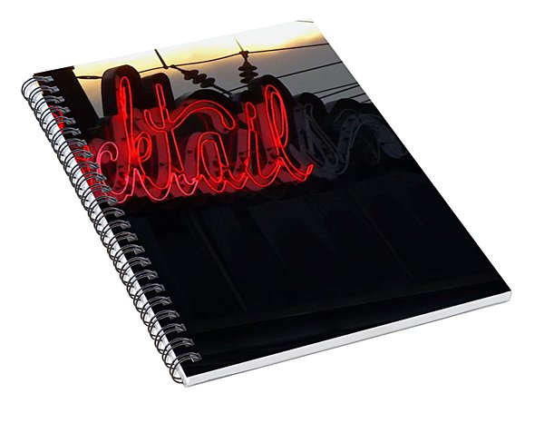 Cocktail Hour Spiral Notebook