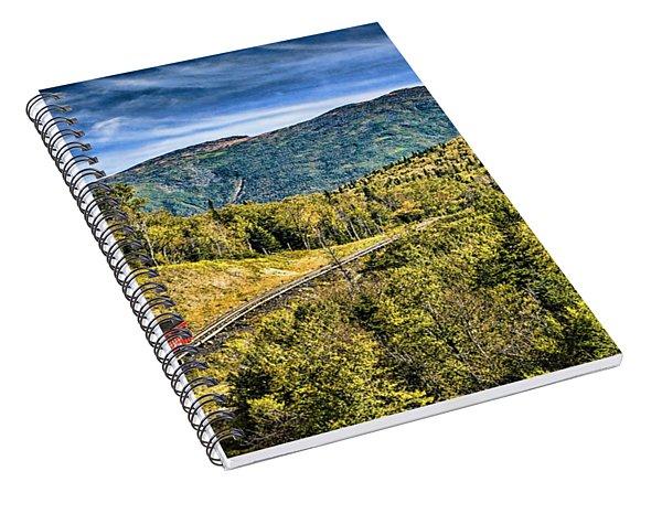 Cog At Mt. Washington Spiral Notebook