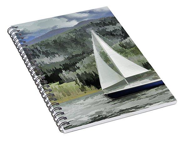 Colorado By Wind Spiral Notebook