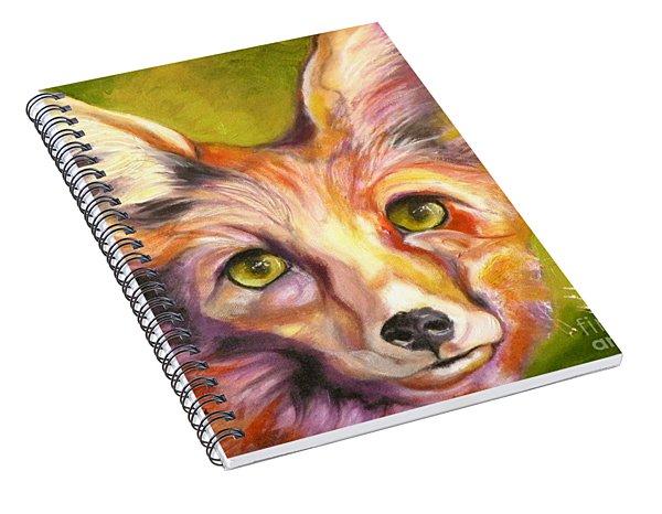 Colorado Fox Spiral Notebook