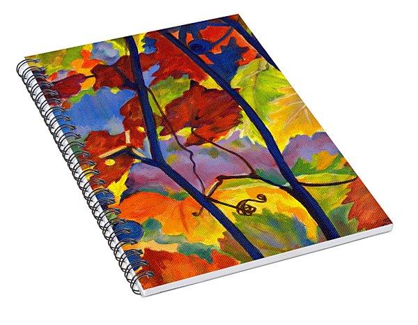 October Colors Spiral Notebook