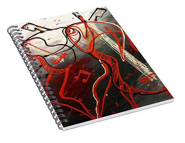 Cool Jazz 2 Spiral Notebook