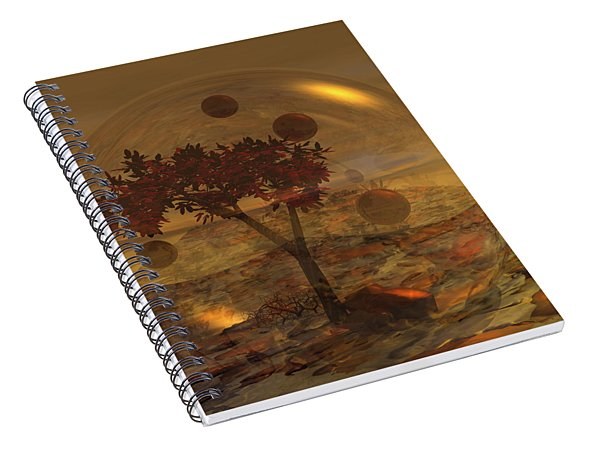 Copper Terrarium Spiral Notebook