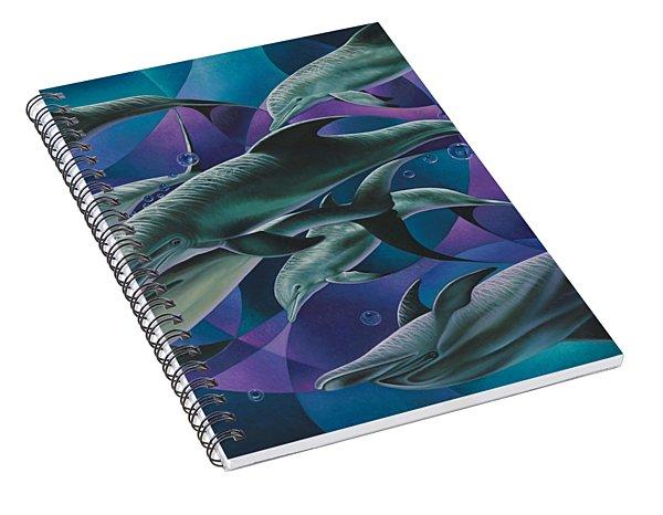Corazon Del Mar  Spiral Notebook