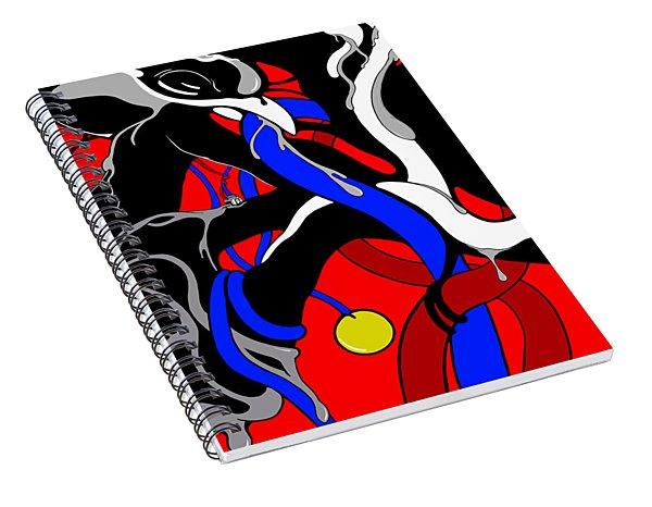 Corrosive Spiral Notebook