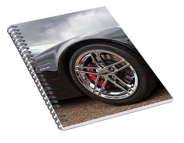 Corvette Z06 Spiral Notebook