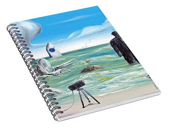 Cosmic Broadcast -last Transmission- Spiral Notebook