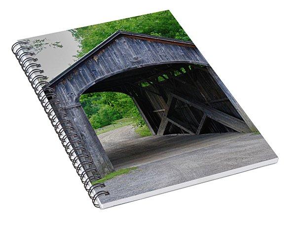 Country Store Bridge 5656 Spiral Notebook