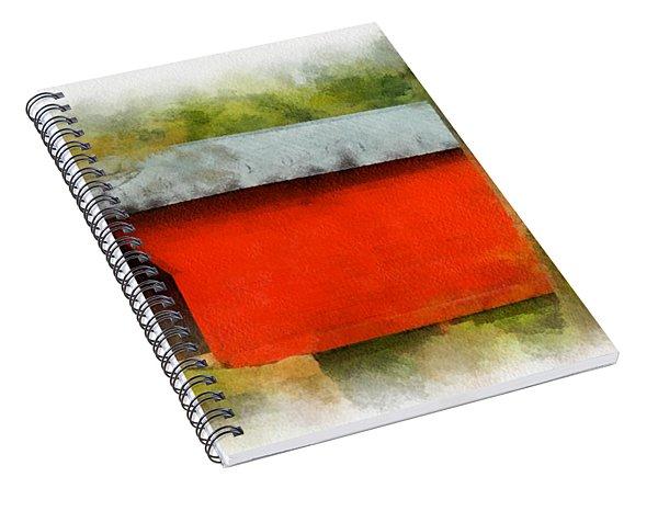 Covered Bridge - Sinking Creek Spiral Notebook