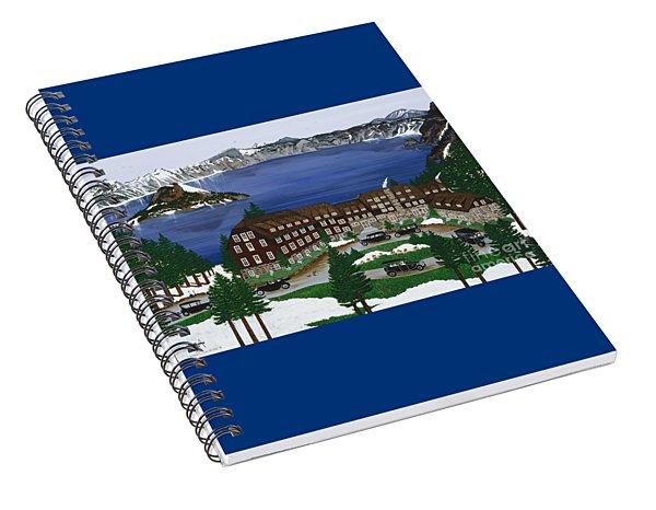 Crater Lake National Park Spiral Notebook
