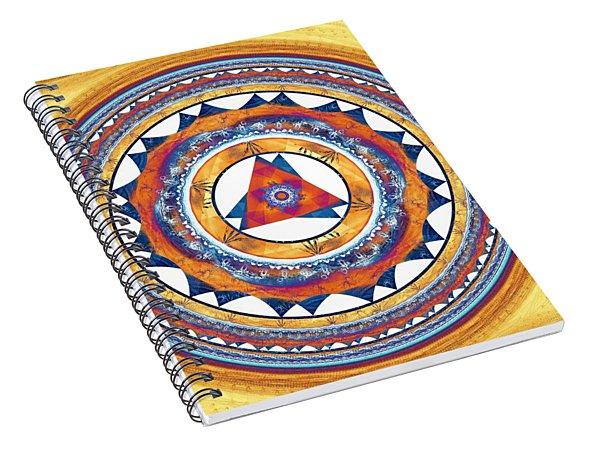 Creative Energy Spiral Notebook