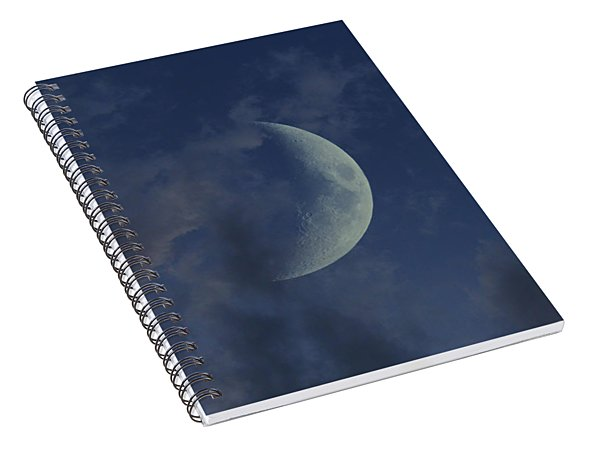 Crescent Moon Spiral Notebook
