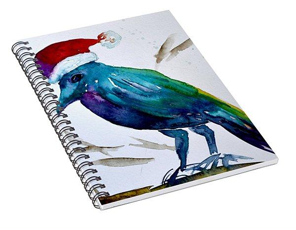 Crow Ho Ho Spiral Notebook