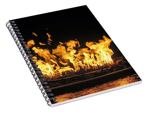Crown Of Fire Spiral Notebook