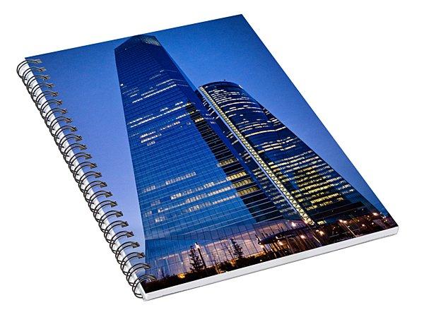 Cuatro Torres Business Area Spiral Notebook