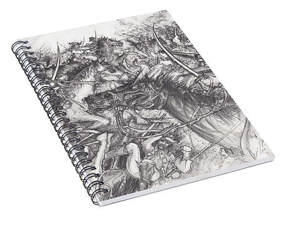 Custer's Clash Spiral Notebook