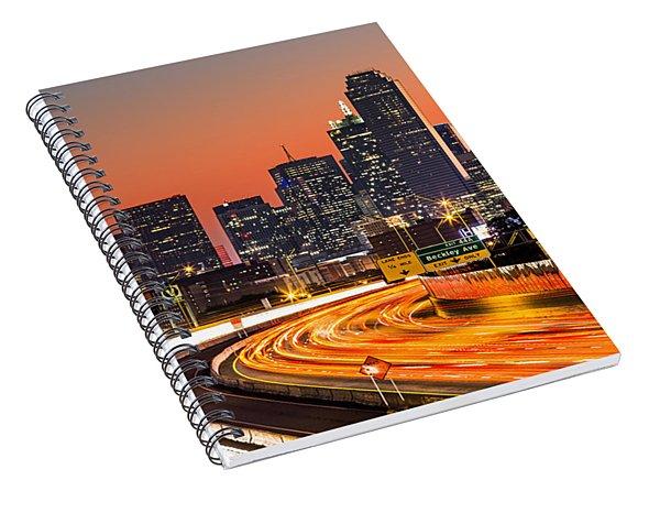 Dallas Sunrise Spiral Notebook