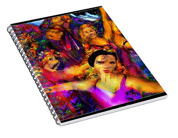 Dance Of The Sugar Plum Fairies Spiral Notebook
