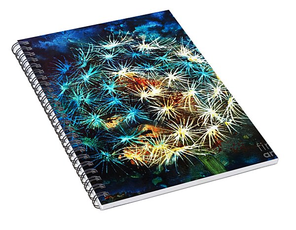 Dandy Puff Spiral Notebook