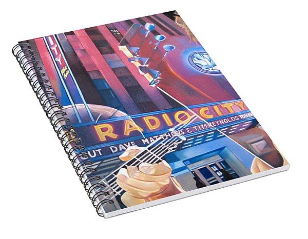 Dave Matthews And Tim Reynolds At Radio City Spiral Notebook