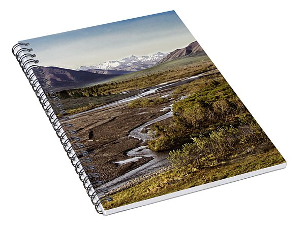 Denali Toklat River Spiral Notebook