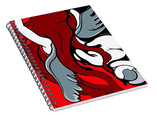 Descending Spiral Notebook