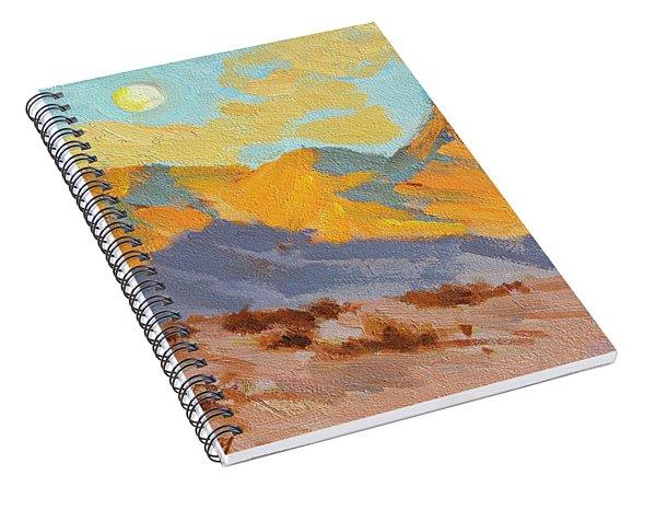 Desert Morning La Quinta Cove Spiral Notebook