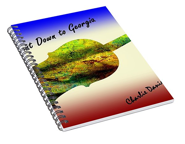 Devil Went Down To Georgia Daniels Fiddle  Spiral Notebook