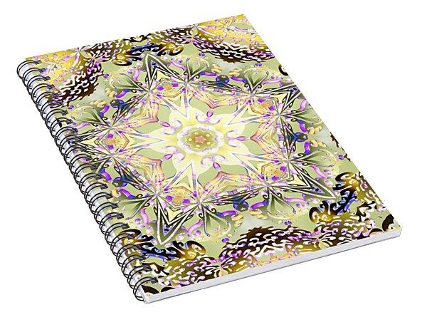 Digmandala Simha Spiral Notebook