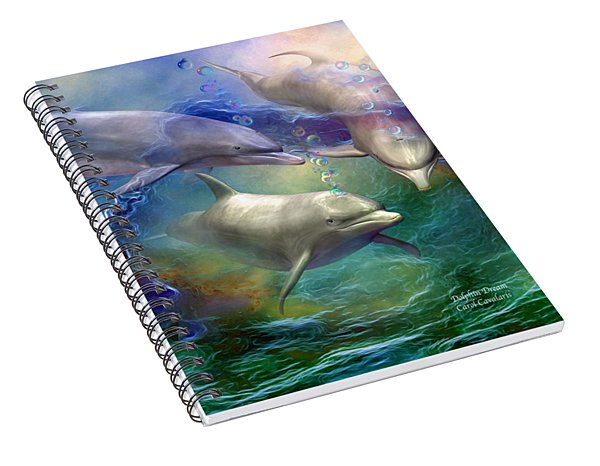 Dolphin Dream Spiral Notebook