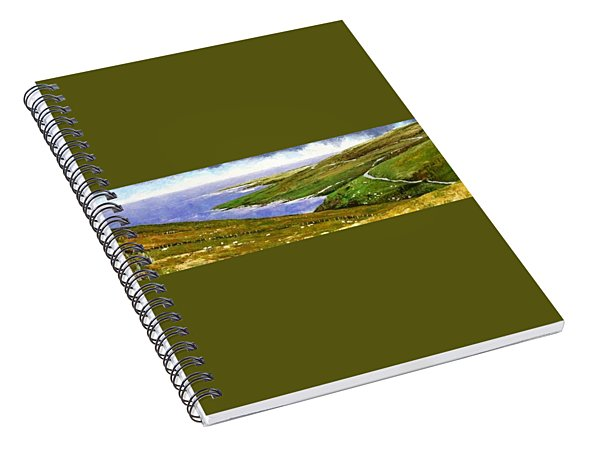 Donegal Coast Spiral Notebook