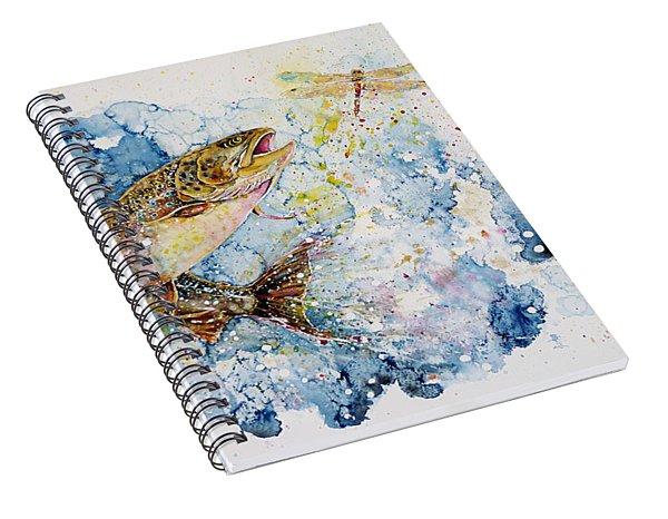 Dragonfly Hunter Spiral Notebook