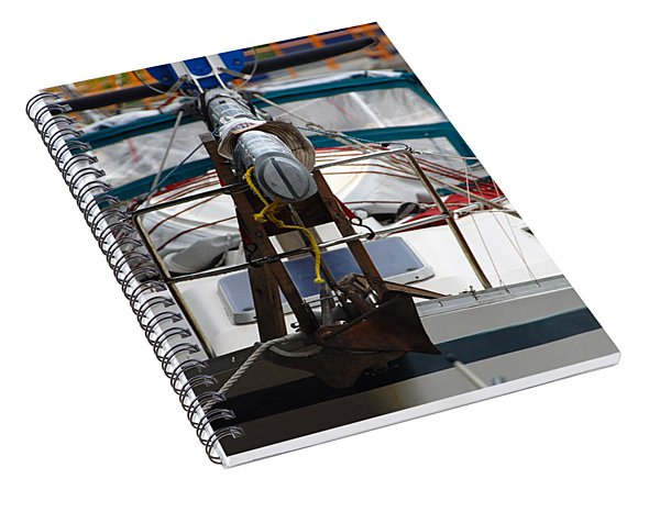 Dropped Mast Spiral Notebook