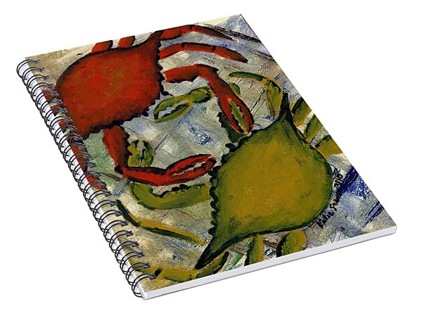 Dueling Crabs Spiral Notebook