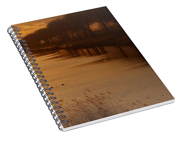 Dutch Landscape Spiral Notebook